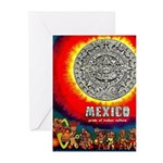 Mexico Vintage Travel Advertising Print Greeting C