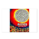 Mexico Vintage Travel Advertising Print Postcards