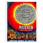 Mexico Vintage Travel Advertising Print Small Post