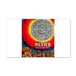 Mexico Vintage Travel Advertising Print Decal Wall