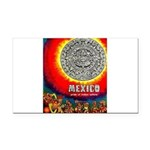 Mexico Vintage Travel Advertising Print Rectangle