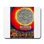 Mexico Vintage Travel Advertising Print Mousepad