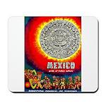 Mexico Vintage Travel Advertising Print Mousepad