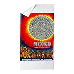 Mexico Vintage Travel Advertising Print Beach Towe