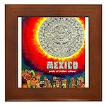 Mexico Vintage Travel Advertising Print Framed Til