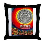 Mexico Vintage Travel Advertising Print Throw Pill