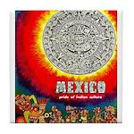 Mexico Vintage Travel Advertising Print Tile Coast