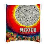 Mexico Vintage Travel Advertising Print Woven Thro