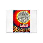 Mexico Vintage Travel Advertising Print 5'x7'Area