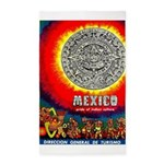 Mexico Vintage Travel Advertising Print Area Rug