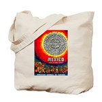 Mexico Vintage Travel Advertising Print Tote Bag