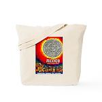Mexico Vintage Travel Advertising Print Tote Bag