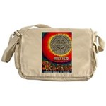 Mexico Vintage Travel Advertising Print Messenger