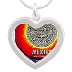 Mexico Vintage Travel Advertising Print Necklaces
