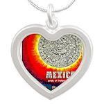 Mexico Vintage Travel Advertising Print Necklaces