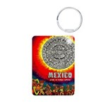 Mexico Vintage Travel Advertising Print Keychains