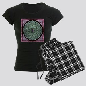 Metallic Celtic Knot Women's Dark Pajamas