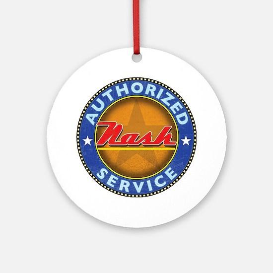 Cute Nash Round Ornament