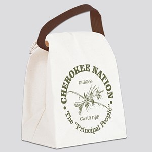 Cherokee Nation Canvas Lunch Bag