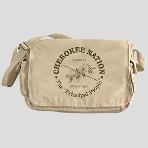 Cherokee Nation Messenger Bag
