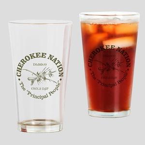 Cherokee Nation Drinking Glass