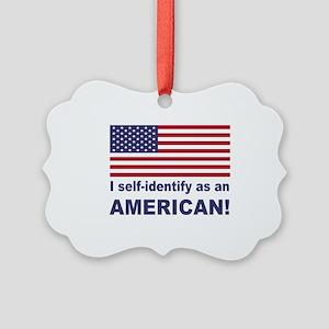 Self Identify Picture Ornament