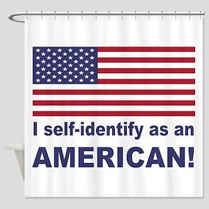 Self Identify Shower Curtain