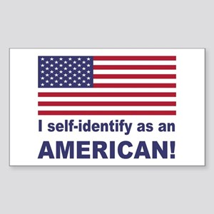 Self Identify Sticker (Rectangle)