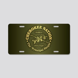 Cherokee Nation Aluminum License Plate