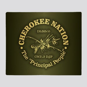 Cherokee Nation Throw Blanket