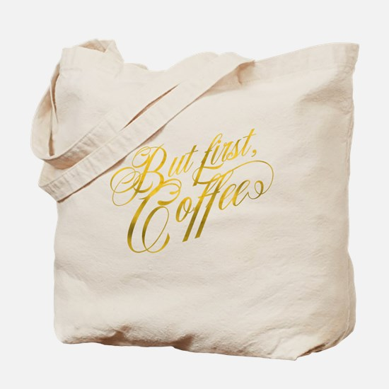 Faux gold Tote Bag