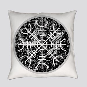 Helm Of Awe Everyday Pillow