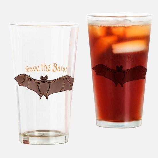 Unique Bats Drinking Glass