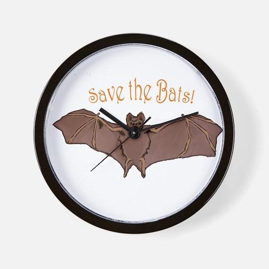 Cute Bats Wall Clock