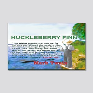 Huckleberry Finn 20x12 Wall Decal