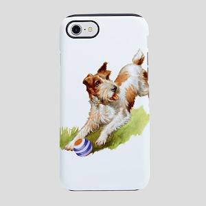 Wire Fox Terrier iPhone 8/7 Tough Case