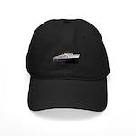 Ss Badger Black Cap