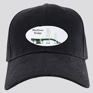 Mackinac Bridge Black Cap