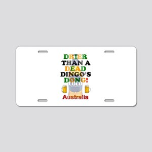 AUSTRALIAN BEER - DRIER THA Aluminum License Plate