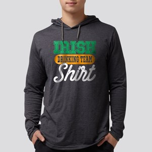 Irish Drinking Team Shirt Long Sleeve T-Shirt