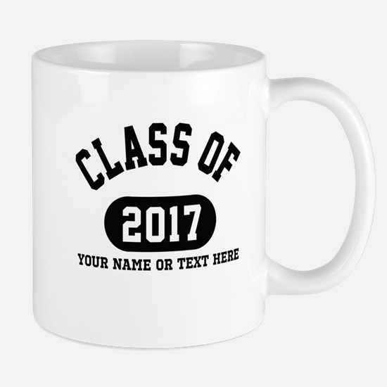 Personalize It, Class of 2017 Mugs