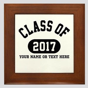 Personalize It, Class of 2017 Framed Tile