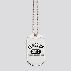 Personalize It, Class of 2017 Dog Tags