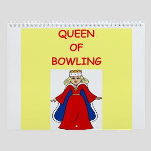 Women's Bowling Wall Calendar