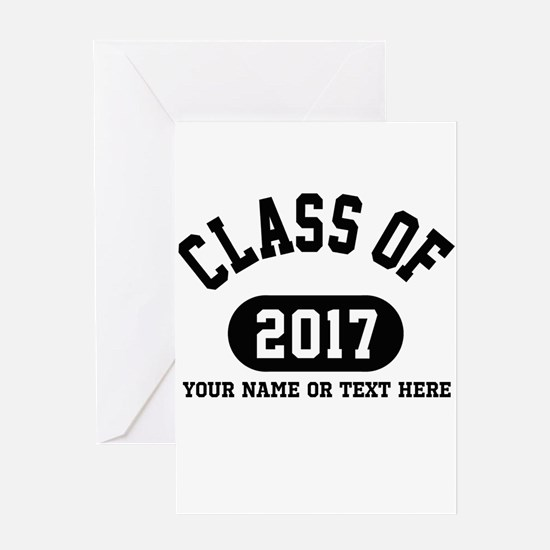 Personalize It, Class of 2017 Greeting Cards