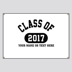 Personalize It, Class of 2017 Banner