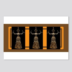 MInoan Snake Goddess Postcards (Package of 8)