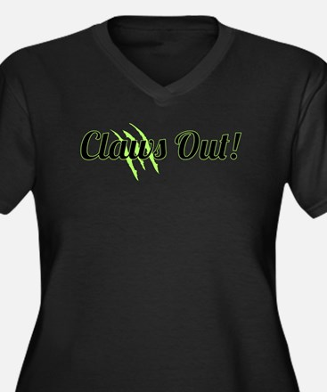 Claws Out! Plus Size T-Shirt