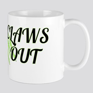 CLAWS OUT Mugs