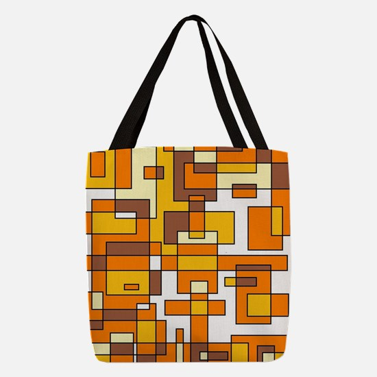 CANDY CORN Polyester Tote Bag